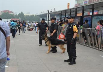 保安在进行巡逻的时候要严格按照标准